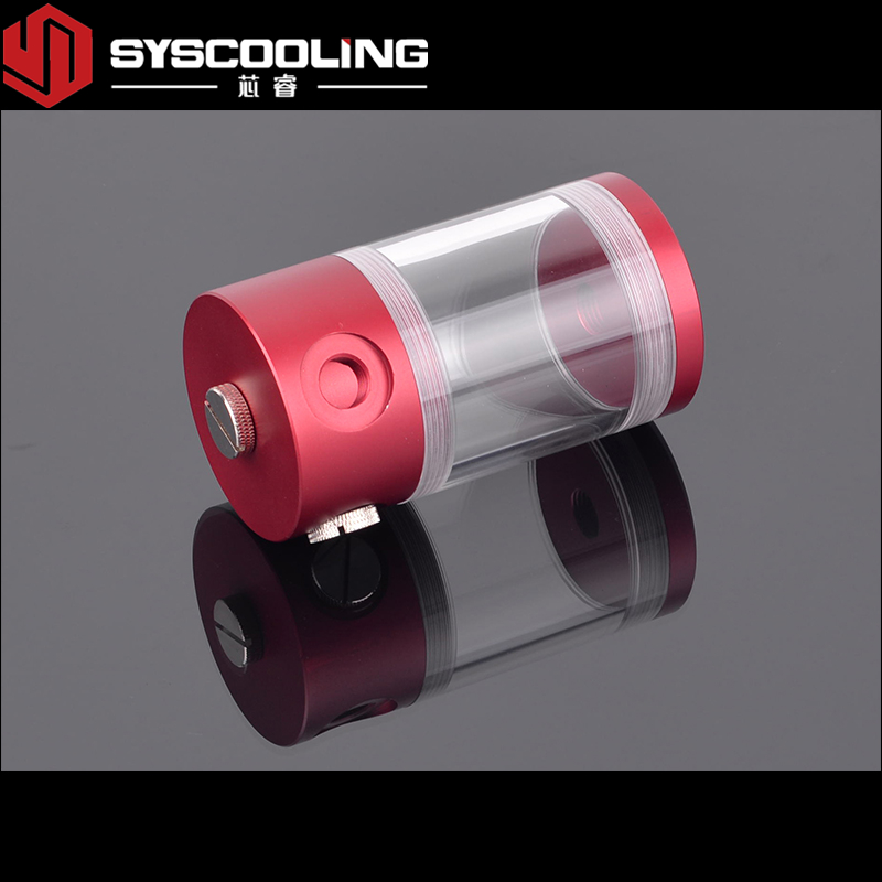 Syscooling 130 มิลลิเมตรคอมพิวเตอร์ Acrylic Water Cooling ถัง