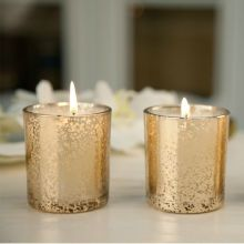 God Kvalitet Lyxig Guld Glas Kruk Fragrance Candle