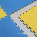 T Pattern Blue-yellow Color Judo Mat
