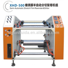 stretch film Slitting/rewinder machinery