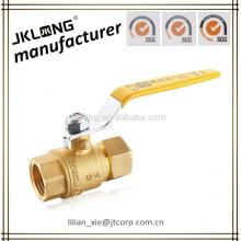 16mm PEX x G1/2 male PEX-AL-PEX brass ball valve compression end
