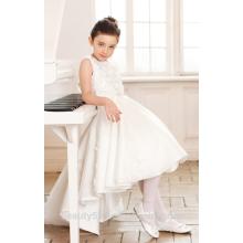 dress designs for girls scoop neckline sleeveless net fabric for girls dress baby dresses ED769