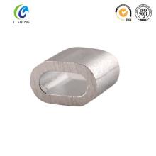 Manga de aluminio de aleación de aleación de alambre oval