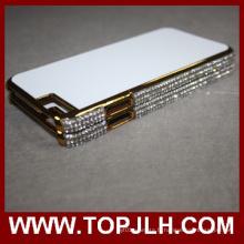 Nouveau Sublimation paillettes diamant strass téléphone étui pour iPhone Plus de 6/6