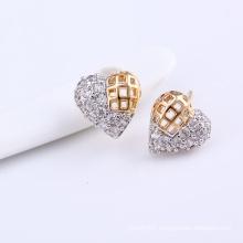 Xuping Fashion Muticolor Heart New Design Zircon Earring (24804)