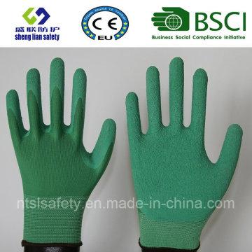 Nylon Latex Labor Safety Gloves