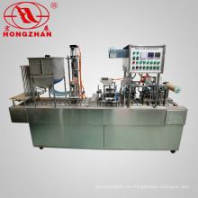 Automatische Folien Deckel Wasser Tasse Füllung und Verschließmaschine