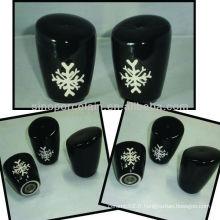 Nouveau distributeur de sel en céramique avec conception de Noël pour BS12056D