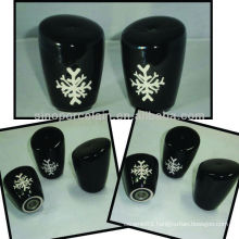 New ceramic salt dispenser with xmas design for BS12056D