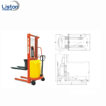 Hand Push Powerfull 1,5 Ton Electric Forklift
