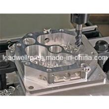 Peças giradas aço de alumínio fazendo à máquina do protótipo do CNC do OEM (LW-02366)