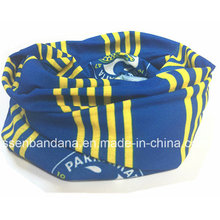 Custom Made Logo Printed Promotional Polyester Microfiber Multifunctional Seamless Sports Neck Buff Headband