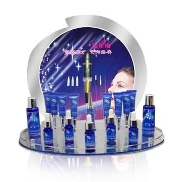 Werbung Acryl Kosmetik Display Stand, Store Retail Zähler Display
