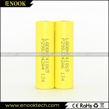 Whosales LG HE4 18650 3.7V 2500mah 35A Аккумулятор