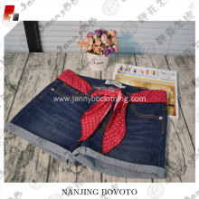 children trousers casual pant red belt shorts