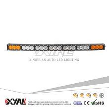 La barra ligera llevada blanca ambarina 210W llevó la iluminación al aire libre del poder más elevado curvado campo a través de la barra ligera 12V 24V