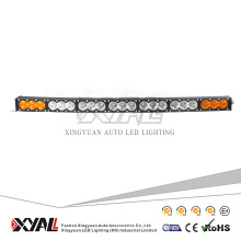 210W amber white led light bar led offroad curved light bar 12V 24V high power outdoor lighting