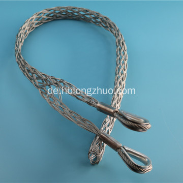 Double Head Cable Sock Drahtgeflecht Zuggriff