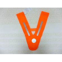Orange V-Shape Hi Visibility Reflective Collar for Kids