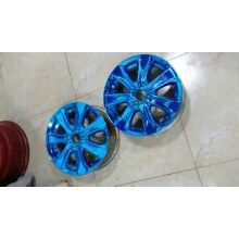 chroming plastic car parts