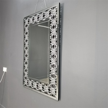 Big Size Rectangular Hanging Mirror Decorative Frame