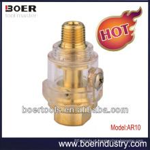 Mini lubrificador do ar da ferramenta do ar da arma de pulverizador