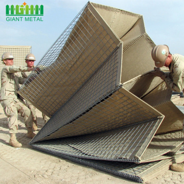 완화 폭발 방어 Hesco Barrier Sand Wall
