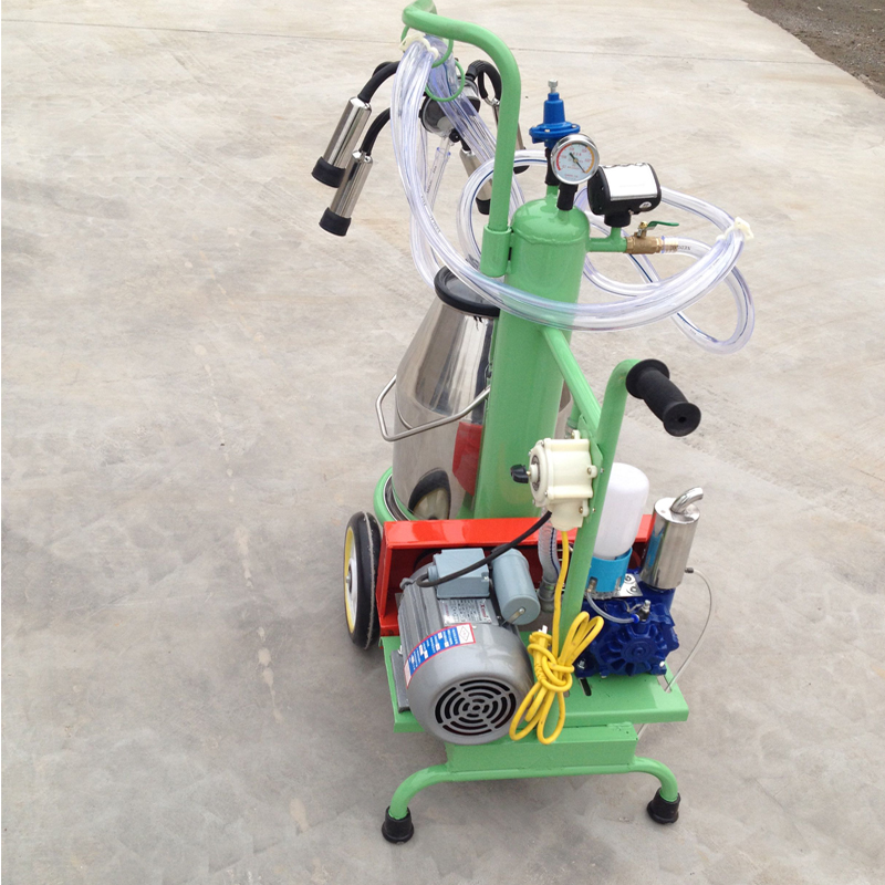 milking machine can be customized