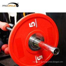 Hochwertige Apollo Bumper Gym Gewicht Platte