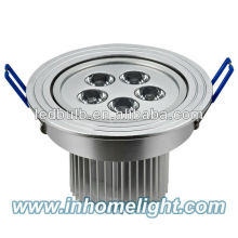Aluminum 5W led ceiling light led ceiling spotlight