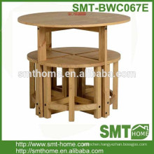 CORONA STOWAWAY KITCHEN DINING SET TABLE WITH STOOLS