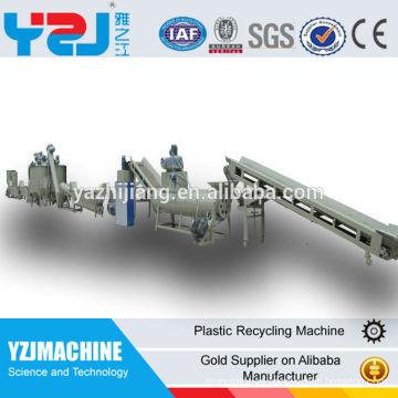 200 a 1000kg por reciclar plástico hora línea de lavado