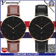 Benutzerdefinierte Dw Yxl-010-Frauen und Männer beobachten, billige Dw Uhrendesign, superschlank Leder Dw Watch
