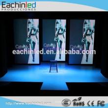 Vermietung voller Farbe LED-Videowand p 3.9 Indoor-Vermietung Pixel Pitch 500 x 500 Werbung Bildschirme