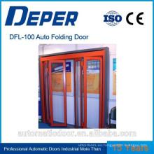 Puerta plegable automática Deper