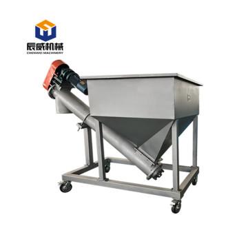 Horizontal shaftless Screw Conveyor sugar