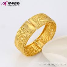 51349 Newest Fashion Nice Big Wide Eelgant Gold Jewelry Phoenix -Shaped Women Bangle in Environmental Copper