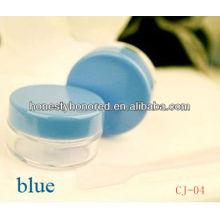 10g mais novo em massa de plástico vazio cosméticos Jar