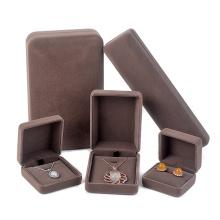 Custom for wedding ring necklace box bracelet box velvet jewelry packaging set box