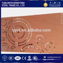 Plaque en acier patinable 09CuPCrNi-A 2.0mm d'une plaque de Corten