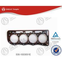 YUCHAI cylinder head gasket, YC4E cylinder head gasket 530-1003051E