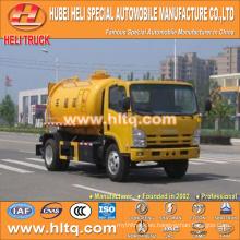 Japón tecnología 4x2 5000L gasoducto de dragado vehículo 190hp calidad de Japón