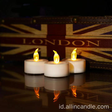 Lilin Natal LED lilin tealight ringan