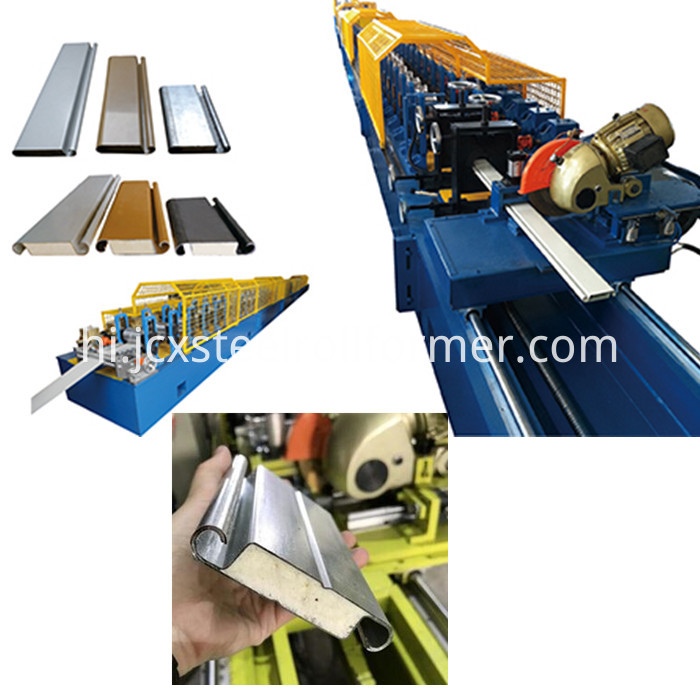double layer shutter door forming machine