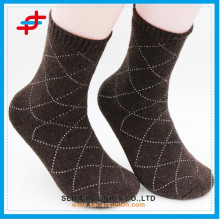 2015 Soft Breathable Men's Business Terry Cotton Socks