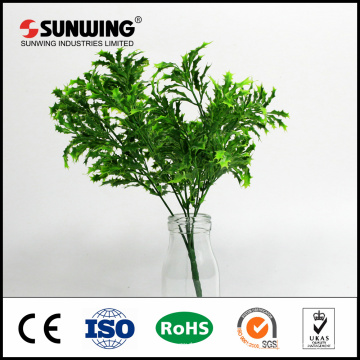 china factory wholesale cheap green artificial silk plants for hanging wall