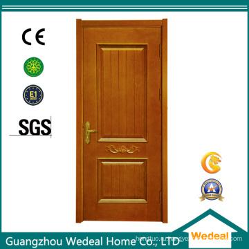 Высокое качество внутренней двери из твердой древесины из ПВХ для домов
