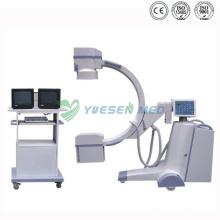 Mobiles medizinisches Hochfrequenz-C-Arm-Röntgengerät Ysx-C35