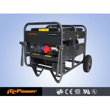 Générateurs d'essence refroidis par air à 12KVA V-twin