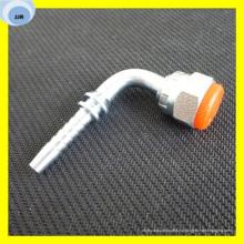 Conectores de tubería hidráulica de codo Bsp Swagelock